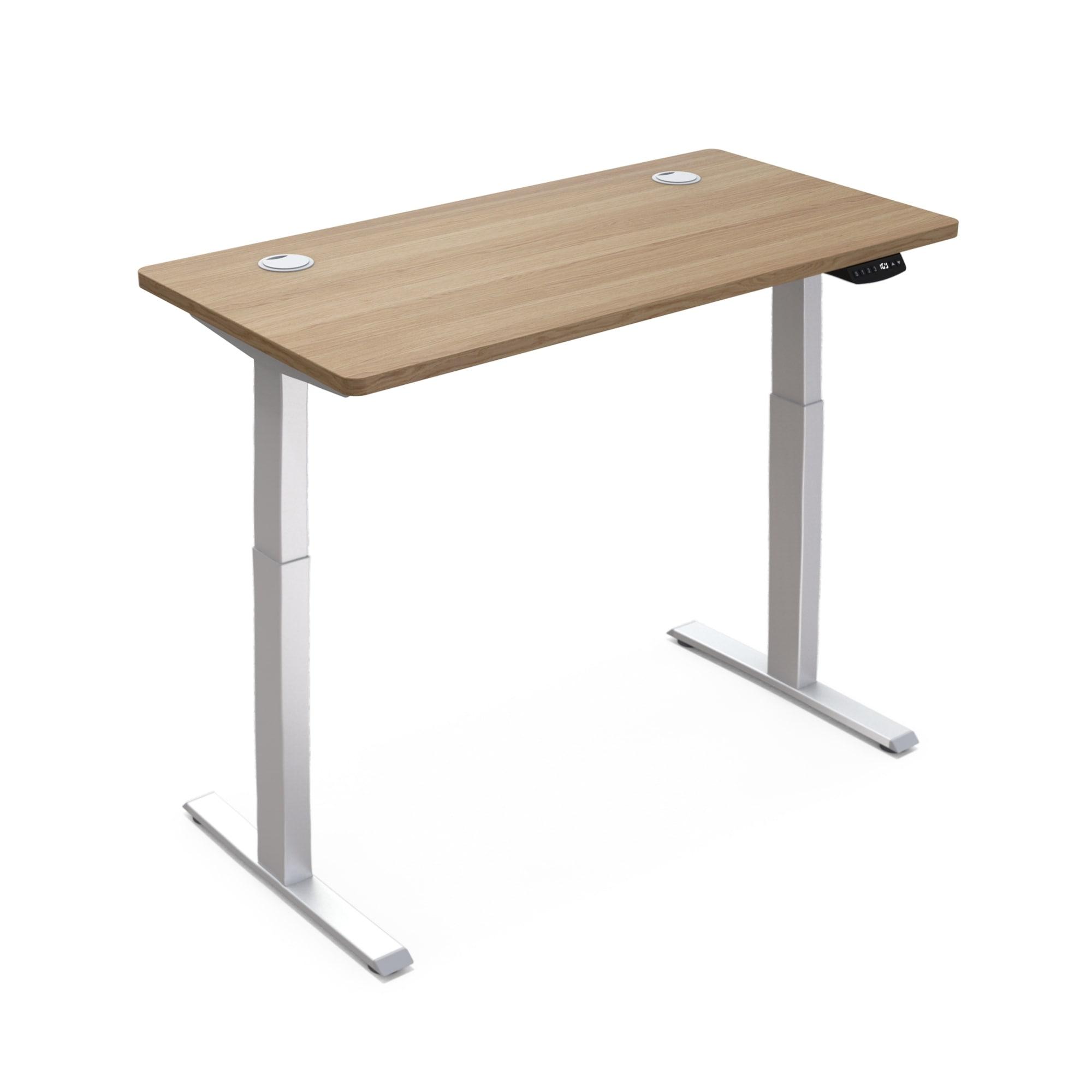 Hi5 Black 3D Rectangular Electric Height Adjustable Sit Standing Desk Top Only 120 RD1260-B 60cm