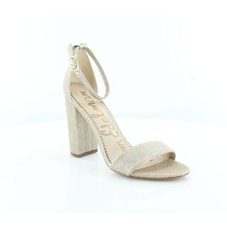 b980c7907597 Sam Edelman Yaro Women s Heels Gold · Quick View