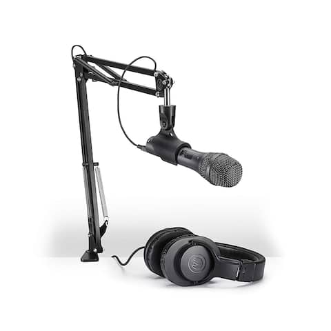 Audio-Technica Vocal Microphone Pack for Streaming Podcasting