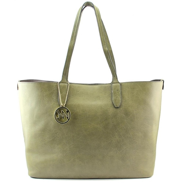 Emilie M. Rebecca Tote Women Synthetic Green Tote