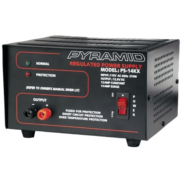 PYRAMID PS14KX 12-Amp Power Supply