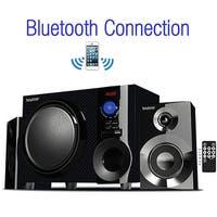 Boytone BT-210FD Wireless Bluetooth 30-Watt Speaker System with FM Radio