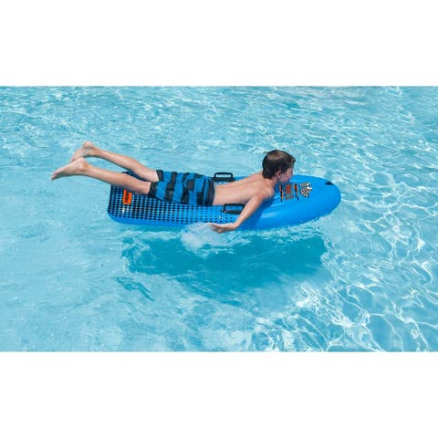 "60"" Solstice Speedster II Inflatable All Season Swimming Pool Body Board Float"