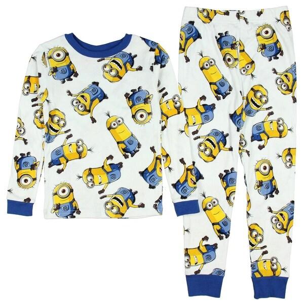 Shop Despicable Me Minions All Over Print Big Boys 2 Piece Cotton