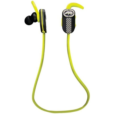 Ecko Unlimited Bluetooth Runner Earbuds with Microphone, Green