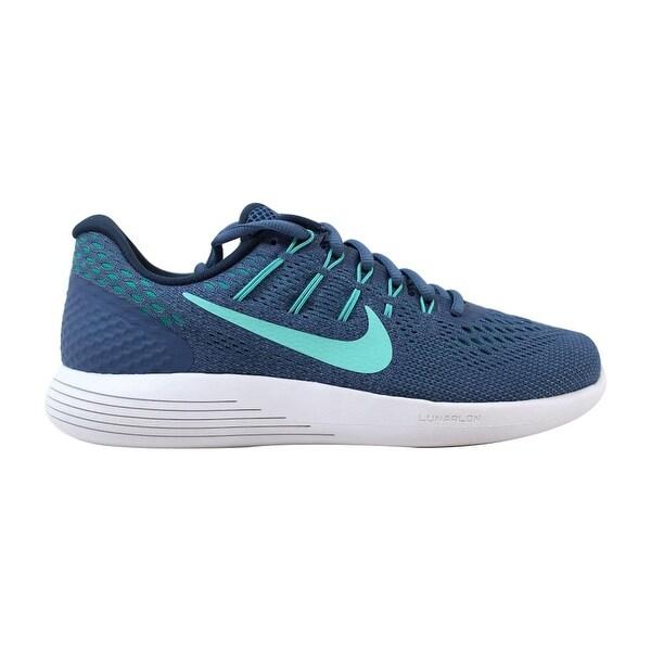 info for d8c50 b4269 Shop Nike Lunarglide 8 Ocean Fog/Hyper Turquoise-Blue Grey ...