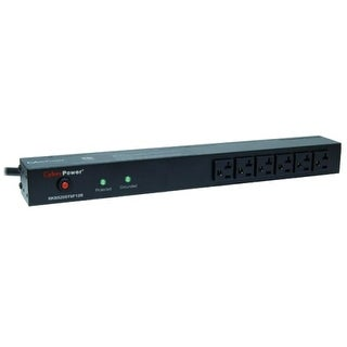 CyberPower Systems USA RKBS20ST6F12R CyberPower Rackbar Surge Suppressor RM 1U RKBS20ST6F12R 20A 18-Outlet - Receptacles: 18 x