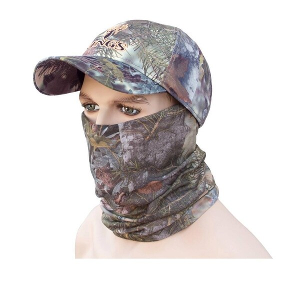 King's Camo Head and Neck Hood Gaiter Mountain Shadow Hunting Mask