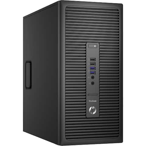 HP 600G2 Tower Core i7-6700 16GB 480GB SSD DVD Win 10 Pro (Refurbished)