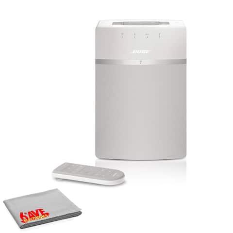 Bose SoundTouch 10 Wireless Music System (White) Standard Bundle