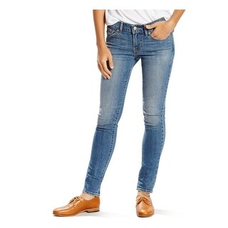 Levi's Womens Skinny Jeans Mid-Rise Slim