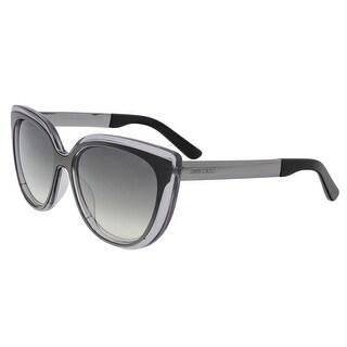 Jimmy Choo JMC CINDY/S 01M0 Grey Cat Eye Sunglasses