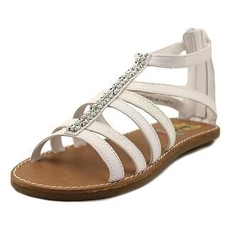 Rachel Shoes Liberty Open Toe Synthetic Gladiator Sandal