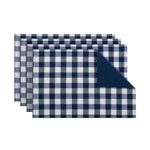 Buffalo Check 4-Pack Placemat, 12x18 Inches