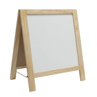 Offex Kid's Fold-A-Way Easel - Natural