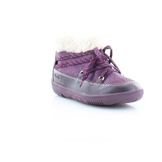 Clarks Maxi Moon FST Toddler Girls Boots Purple