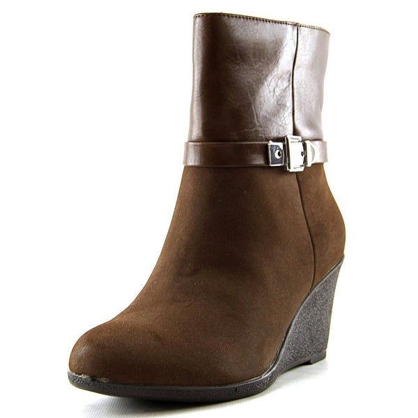 American Living Zola  Dk Brn/Brn Boots