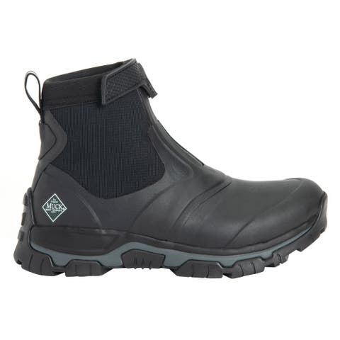 Muck Boot Apex Mid Zip Mens Boots Ankle - Black
