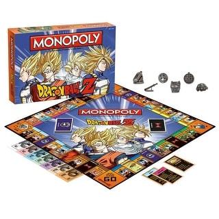 Dragon Ball Z Monopoly Board Game - multi