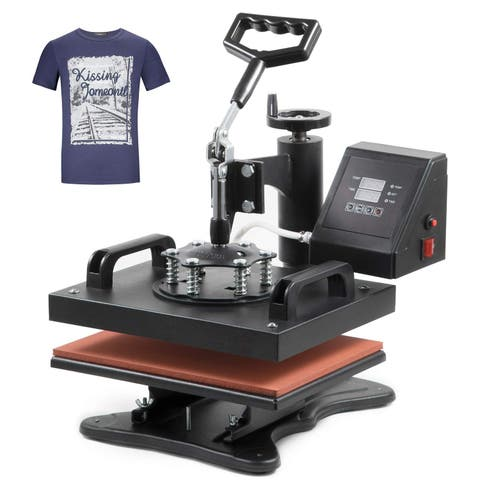 Luckypet 5 in 1 Digital Hot Press Sublimation Machine Printing