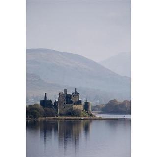 Kilchurn Castle Scotland Poster Print by John Short, 22 x 34 -