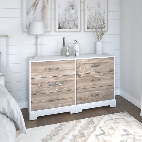 River Brook Dresser from kathy ireland Home by Bush Furniture