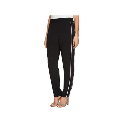 1.State Womens Pants Metallic Party
