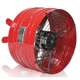 QuietCool AFG PRO-3.0 3013 CFM Professional Attic Fan from the Specialty Series - Red - N/A
