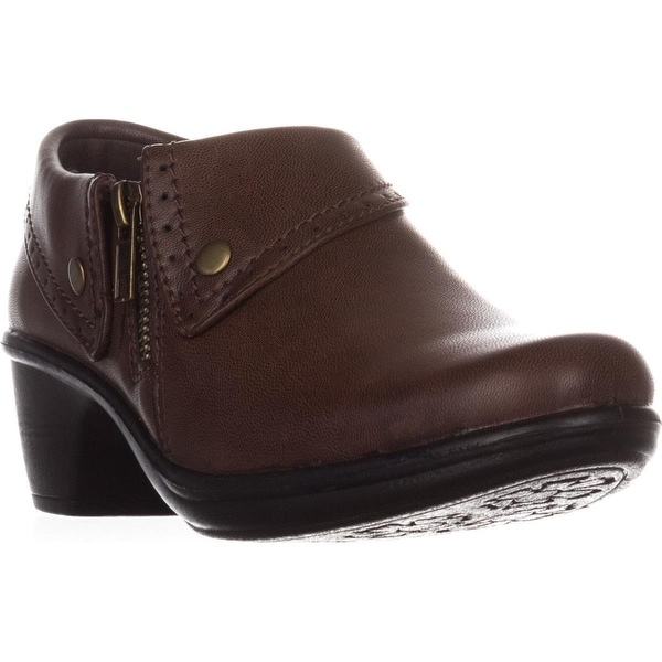 Easy Street Darcy Comfort Ankle Boots, Brown Burnish
