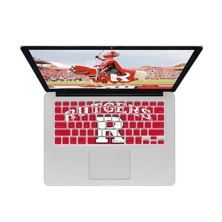KB Covers Rutgers Keyboard Cover for MacBook/Air 13/Pro (2008+)/Retina & Wireless (RUTGERS1-M-EDU)