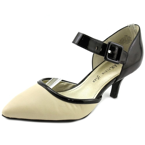 Anne Klein AK Faithful Women Pointed Toe Synthetic Heels