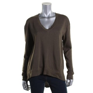 Wilt Womens Hi-Low V-Neck Pullover Sweater - S
