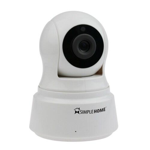 SimpleHome Pan & Tilt Wifi Security Camera SimpleHome Wifi Security Camera -Pan/Tilt