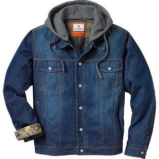 Legendary Whitetails Men's Hideout Conceal and Carry Denim Jacket