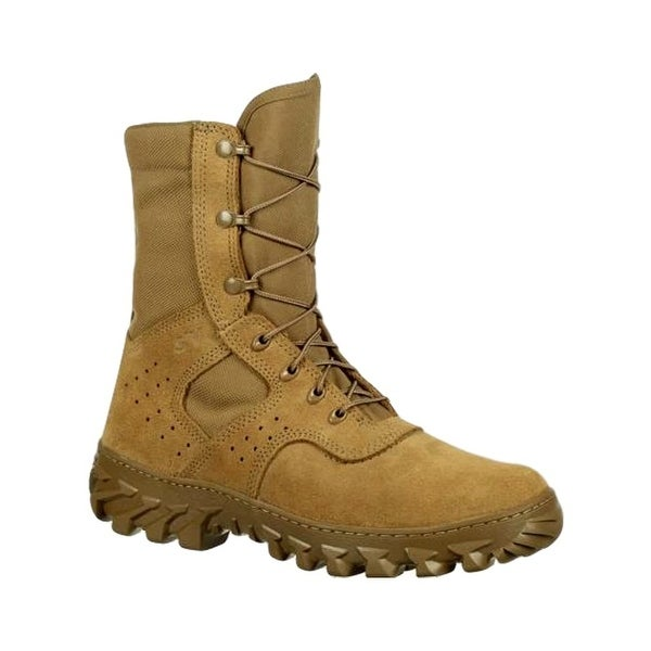Rocky Tactical Boots Mens S2V Enhanced Jungle Coyote Brown