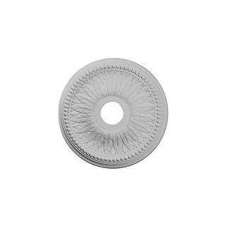"""Ekena Millwork CM18BI 18"""" Wide Bailey Ceiling Medallion"""