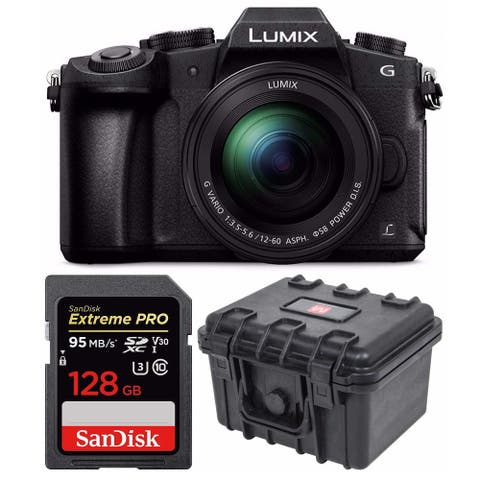 Panasonic Lumix G85 Mirrorless Camera with G Vario 12-60mm Lens Bundle