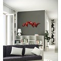 Statements2000 Red Abstract Twist Metal Wall Art Sculpture Accent by Jon Allen - Cardinal Wall Twist - Thumbnail 2