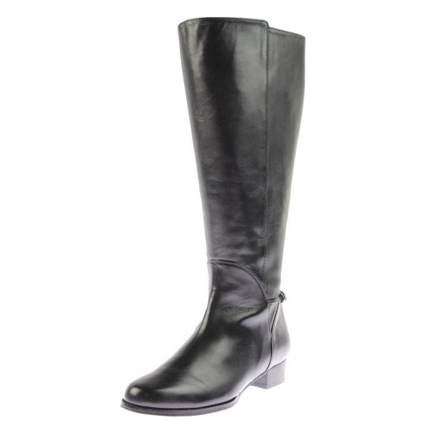 Rose Petals by Walking Cradles Womens Adina Riding Boots Wide Calf Leather