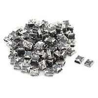 100 Pcs Type B  Mini USB 5-Pin Female Jack Port Socket Connector for Smartphone
