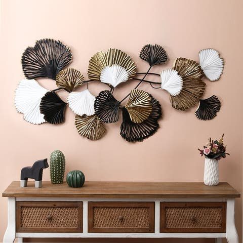 Metal Seashell Modern Wall Decor