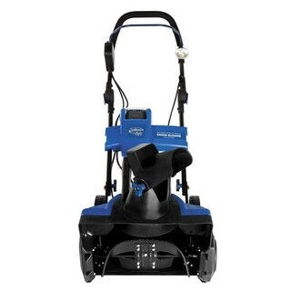 18 in. Cordless Snow Thrower Blue