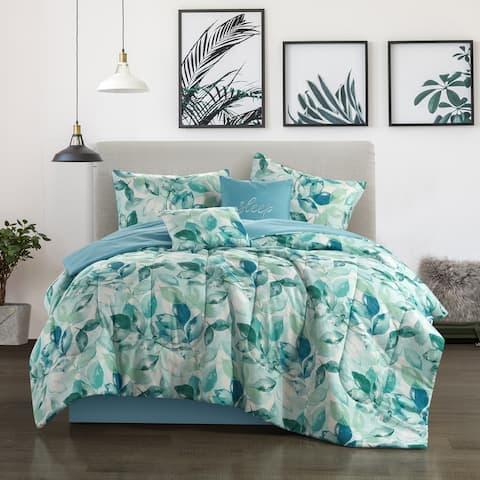Samara 6pc Reversible Comforter Set