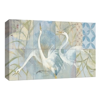"""PTM Images 9-154057  PTM Canvas Collection 8"""" x 10"""" - """"Meadowlands"""" Giclee Birds Art Print on Canvas"""