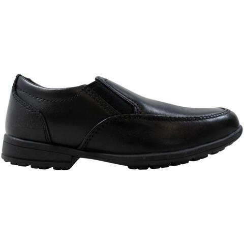 Clarks Kooru Step Black Leather 26100782 Pre-School