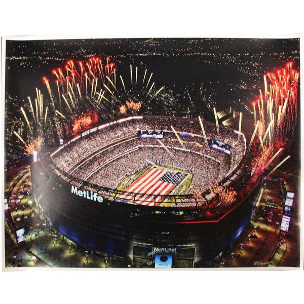 d2a8dde294a Shop Metlife Stadium Large Poster - Ships To Canada - Overstock ...