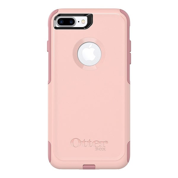 OtterBox COMMUTER SERIES Case for iPhone 8 Plus & iPhone 7 Plus - Ballet Way (Pink Salt/Blush)