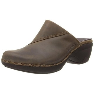 Patagonia Womens Better Leather Slide Clogs