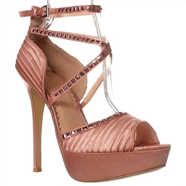 Madison Annabelle Dress Sandals - Blush - 7.5