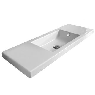 "Nameeks 3502011 Tecla 39-3/8"" Ceramic Wall Mounted / Drop in Bathroom"